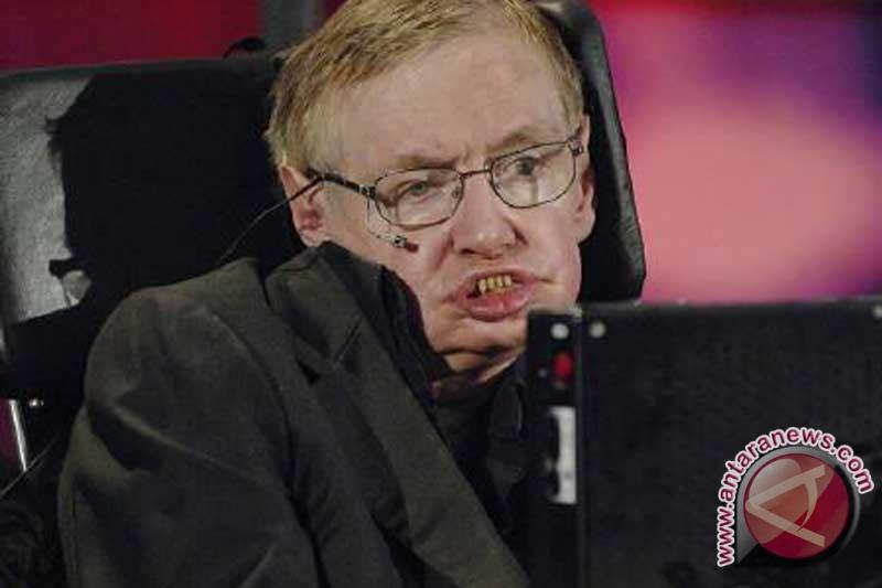 Stephen Hawking kalah bertaruh