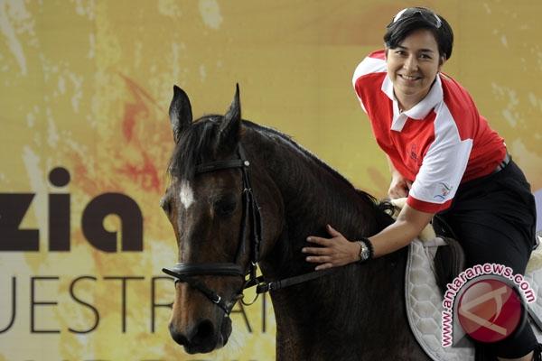 Fery Wahyu juarai kualifikasi ketiga Dressage (berkuda)