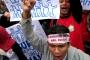 Ratusan guru honorer unjuk rasa di Istana Merdeka