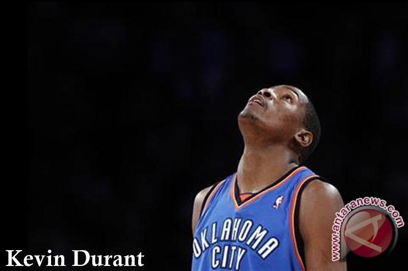 Thunder kalahkan Mavericks