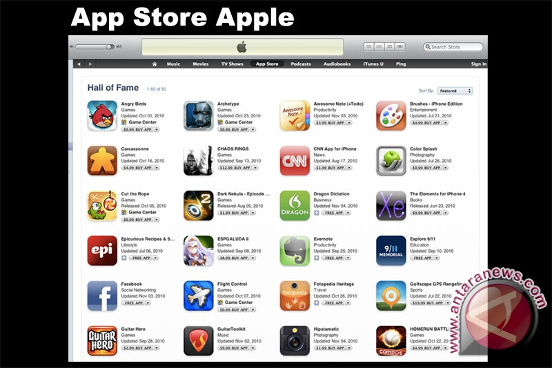Apple sudah benahi error di App Store