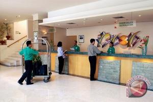 Tingkat hunian kamar hotel Lampung turun