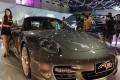 Salah satu mobil mewah Ferrari yang ikut dipamerkan di IIMS 2011. (iims)
