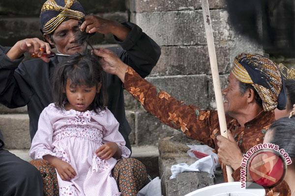 Ruwatan rambut gimbal dijadikan ajang promosi wisata