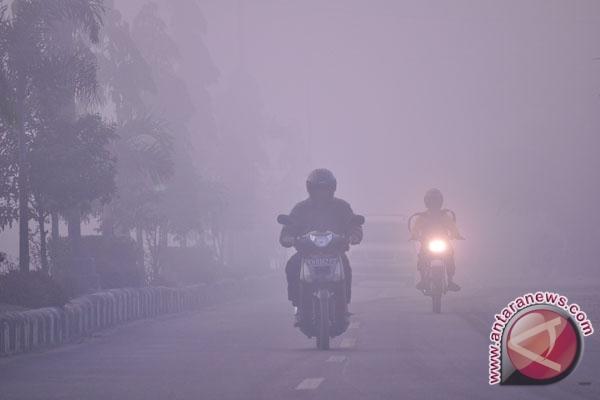 Kualitas udara Riau memburuk karena asap