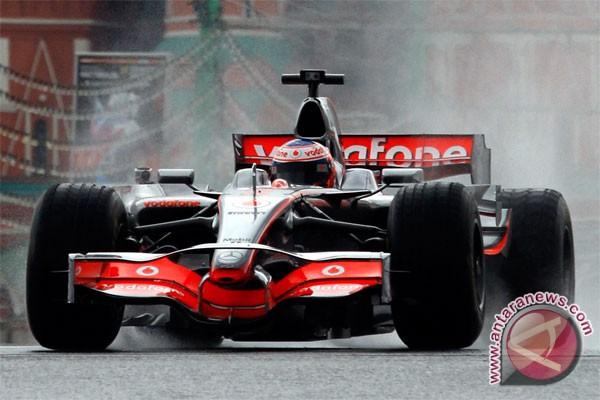 otomotif - hasil formula satu grand prix belgia - (d)
