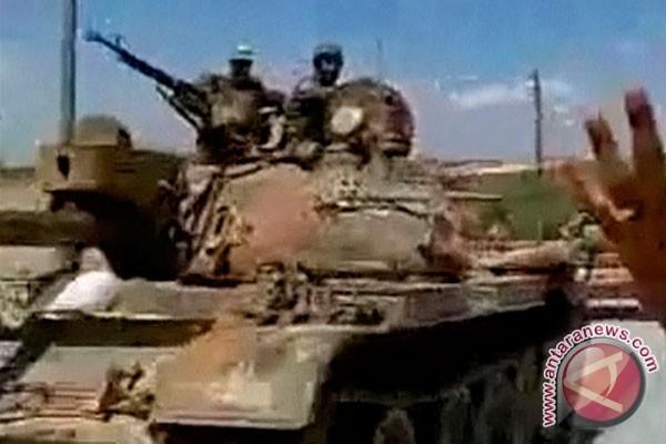 Militer Suriah bantai ratusan milisi oposan di Allepo