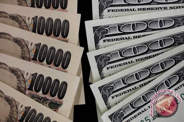 Yen jatuh