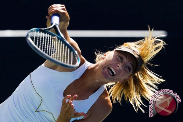 Maria Sharapova di urutan pertama