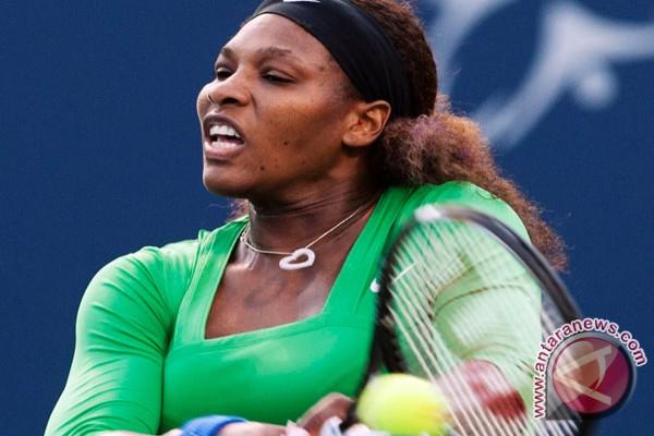 Serena Williams melaju ke babak kedua