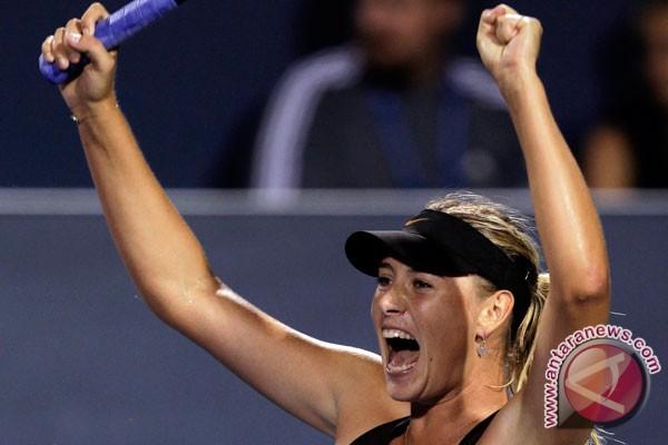 Putin beri selamat atas kemenangan Sharapova