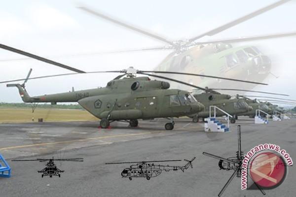 Enam Mil Mi-17 perkuat TNI-AD
