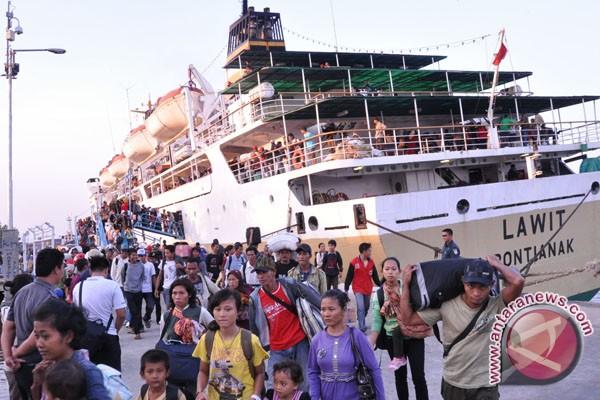 Penumpang kapal laut diprediksi 45 ribu orang