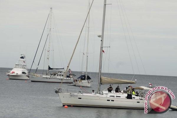 Peserta Yacht Rally Sail Morotai mulai berlayar dari Darwin