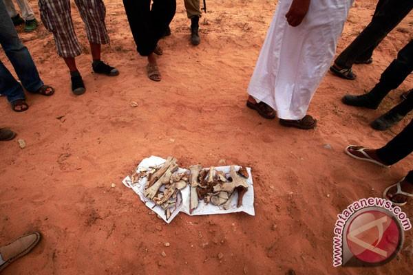 Kuburan massal 1.700 tahanan ditemukan di Tripoli