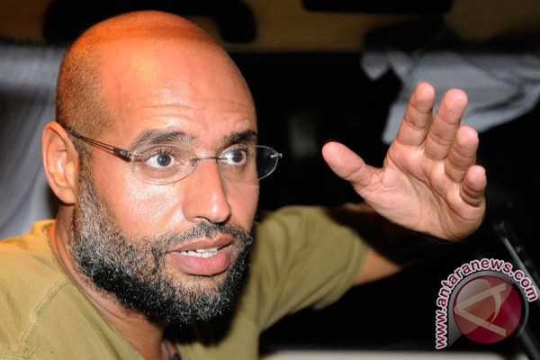 Libya confirms Gaddafi son`s trial in February