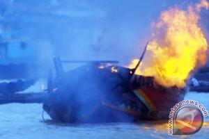Tiga kapal nelayan Muara Angke terbakar