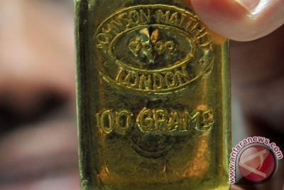 Harga emas naik dipicu ketidakpastian Yunani