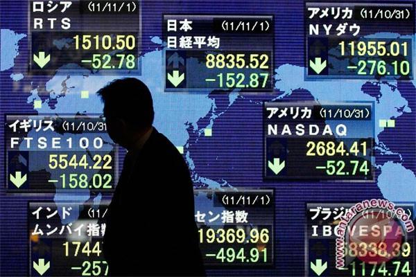 Wall Street akhiri kenaikan beruntun tiga hari