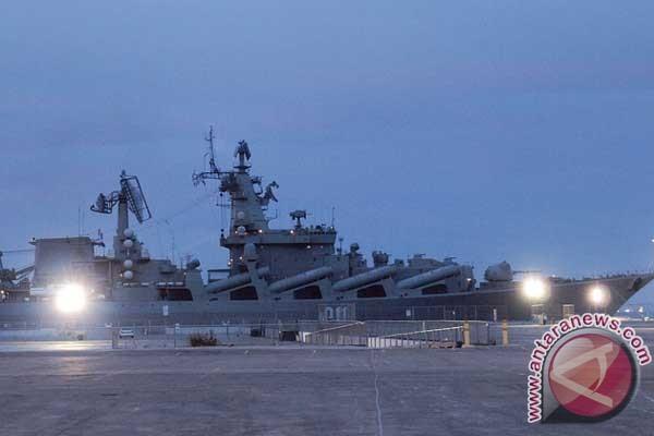 Kapal perang Rusia latihan multinasional di Hawaii