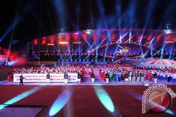 SEA Games XXVI di Stadion Sriwijaya, Jakabaring Sport City, Palembang