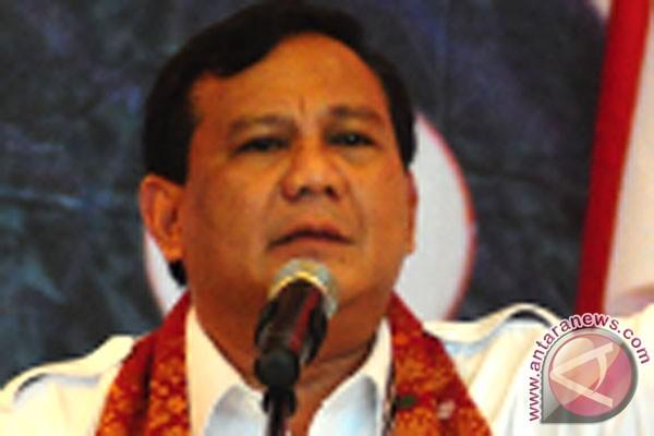 Prabowo Subianto paling banyak dipilih