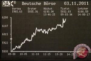 Indeks DAX 30 Jerman terus menurun