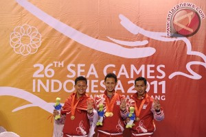 HASIL SEA GAMES 2011 JUMLAH MEDALI EMAS PERAK PERUNGGU
