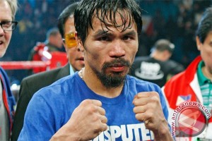 Pacquiao naik ring lawan Bradley pada April 2016