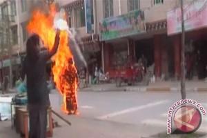 Biksu Tibet hindari bakar diri karena keluarga terancam