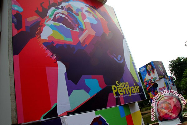 Pop Art khas Indonesia karya Wedha