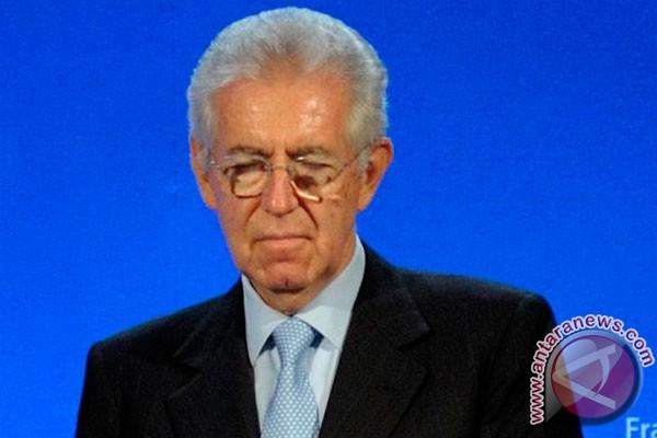 Monti: Italia tidak butuh KTT krisis Uni Eropa baru