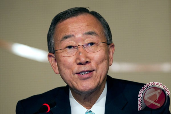 Ban Ki-moon desak Abbas tak tinggalkan perundingan dengan Israel