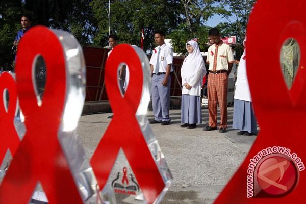 Jumlah kasus HIV/AIDS DKI Jakarta paling tinggi