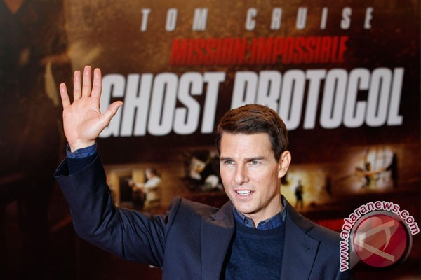 Tom Cruise aktor Hollywood termahal
