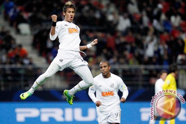 Santos lepas Neymar