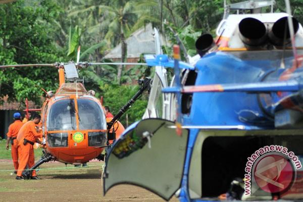 Helikopter Colibri TNI-AU siaga SAR