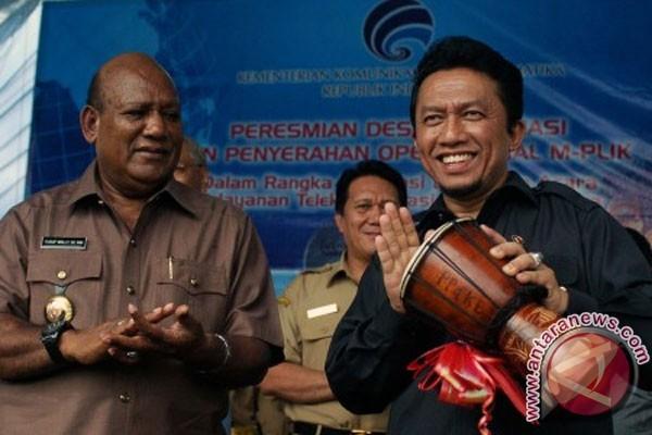 Menkominfo: 84 desa informasi diresmikan selama 2011