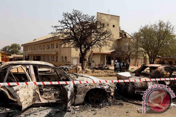 Tiga orang tewas dalam serangan di gereja Nigeria
