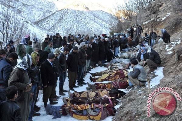 Tentara Turki dibunuh pemberontak Kurdi