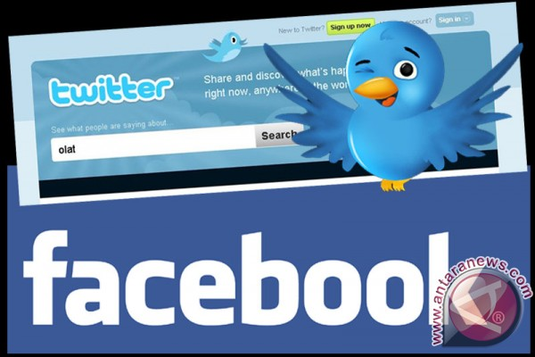 pengguna Facebook di Indonesia tertinggi ketiga dunia