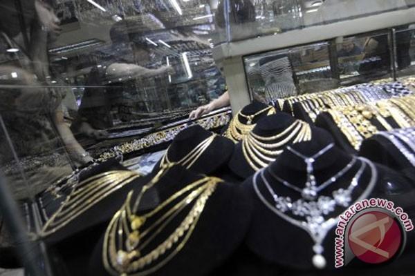 Harga emas perhiasan naik