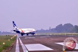 Arus balik di Bandara Sampit makin ramai
