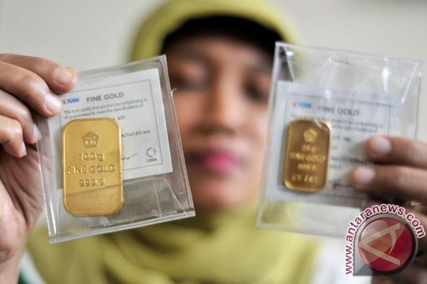 Harga Emas Berjangka Catat Penurunan Pertama Dalam Tiga Sesi