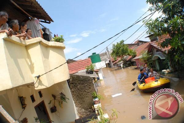 Banjir Tangerang rendam 1.055 rumah