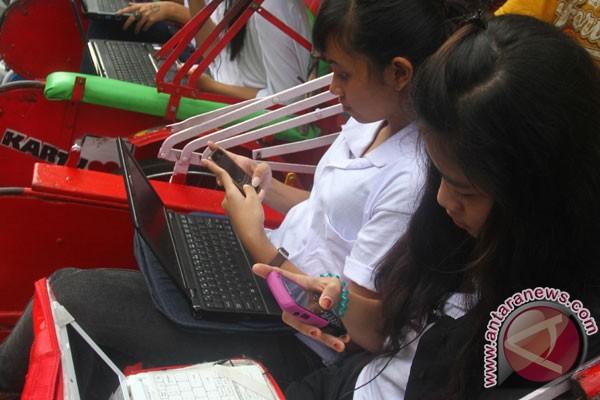 Telkom pasang 500 perangkat WiFi gratis