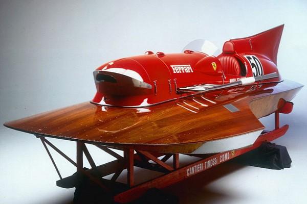 Ferrari pernah produksi speedboat