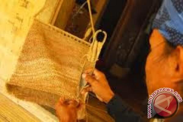 Kerajinan tangan warga suku Baduy. (istimewa)