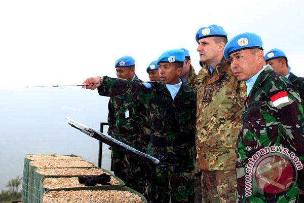 Foto Komandan UNIFIL Berkunjung Ke Markas Indobatt