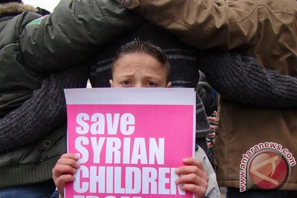 Tiga anak tewas dalam kekerasan di Suriah utara